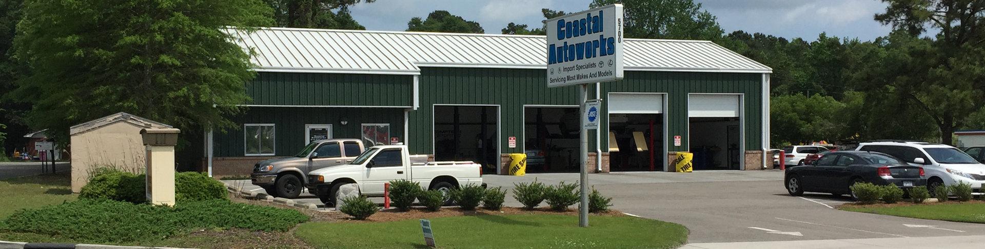 Auto repair wilmington nc coastal auto works for Honda dealership wilmington nc